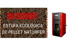 Nature Ecológica: La estufa de pellet sin enchufe
